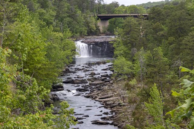 Little River Falls, Little River Canyon National Preserve, Dekalb County, Alabama 1