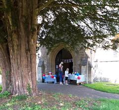 Wiltshire Heytesbury church cornavirus hero Day and children