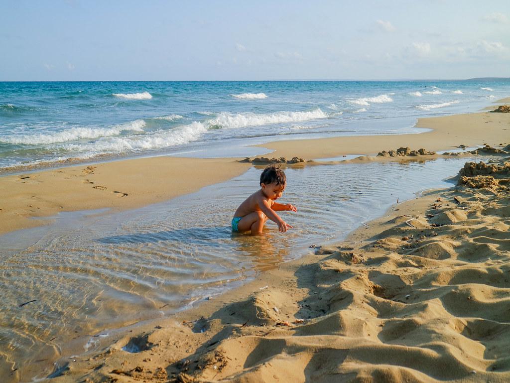 Playa de Noto en Sicilia
