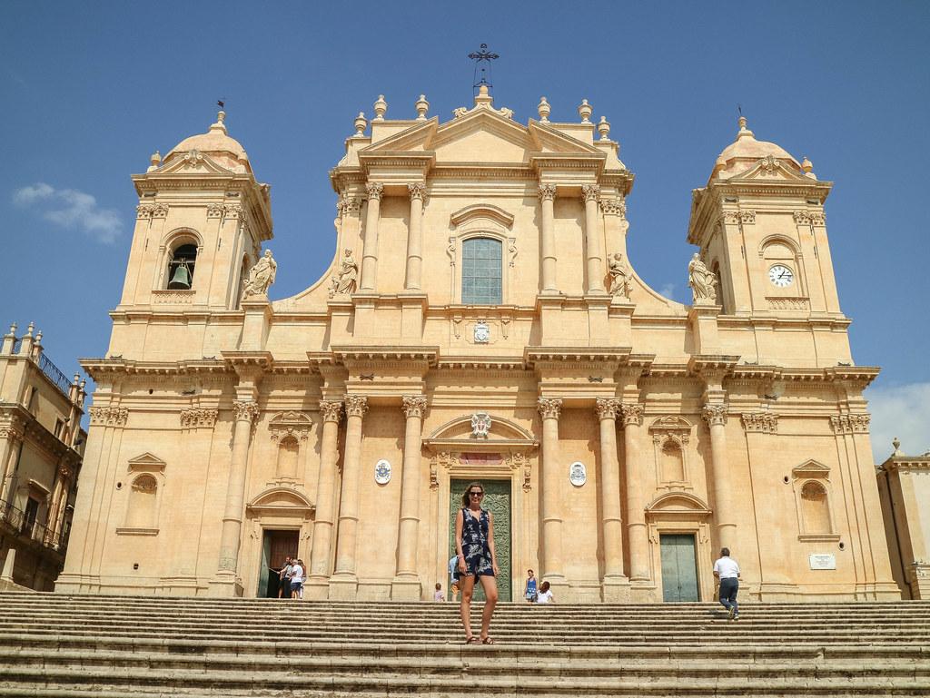 La Catedral de San Nicoló es uno de los lugares que ver en Noto
