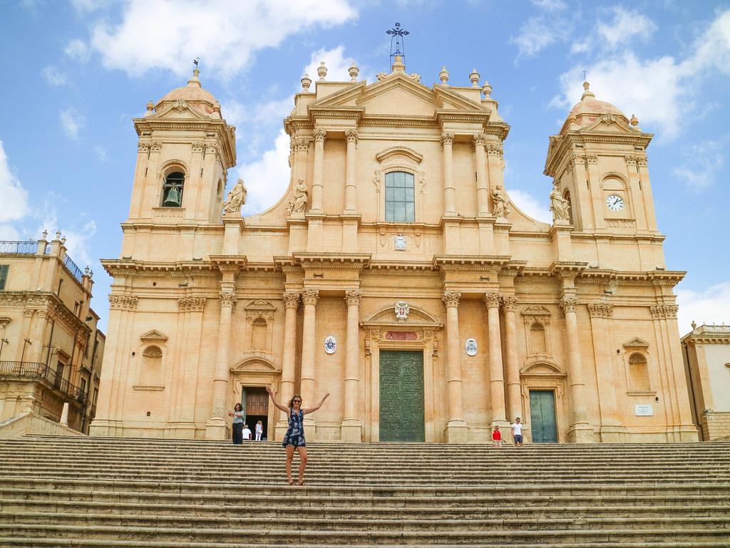 Escalinata de la Iglesia de San Nicolo