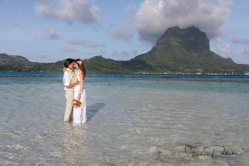 Erika & Ricardo - Motu Tapu Wedding - Bora Bora