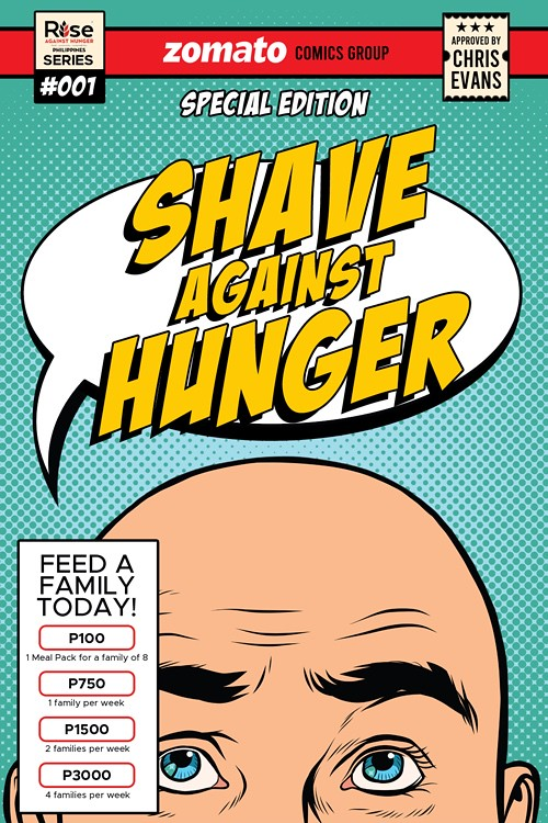 Zomato Shave Against Hunger