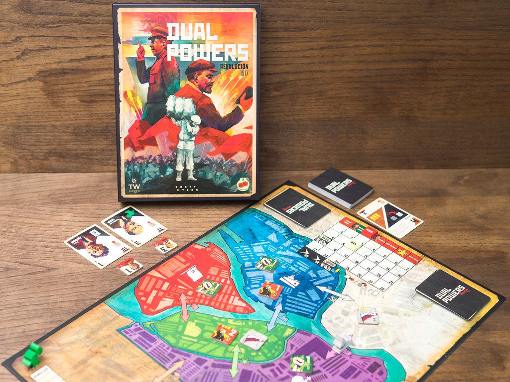 dual powers boardgame juego