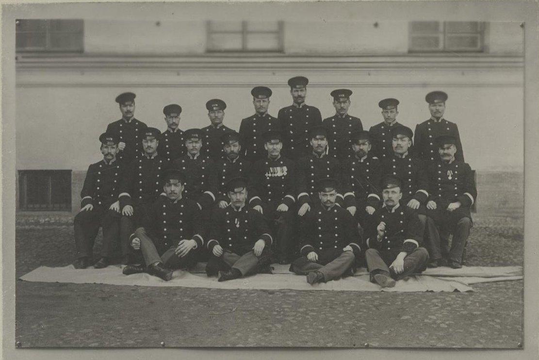 1900-е. Николаевская Академия Ген. штаба. Санкт-Петербург