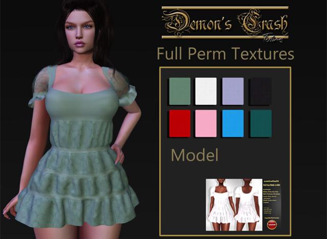[DC] Textures – calafali Full Perm Model-A-2820- 2