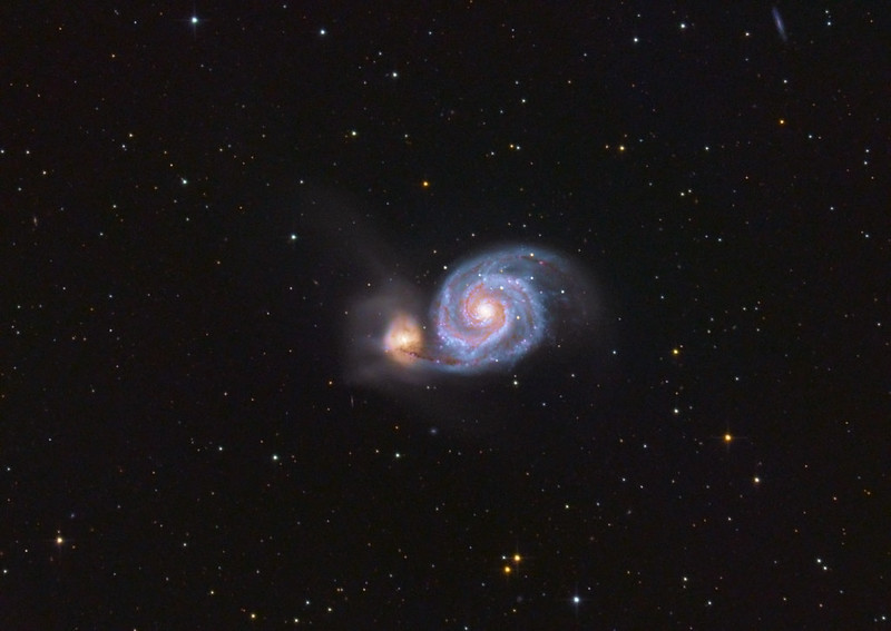 Ágoston Zsolt - Messier 51 - VCSE