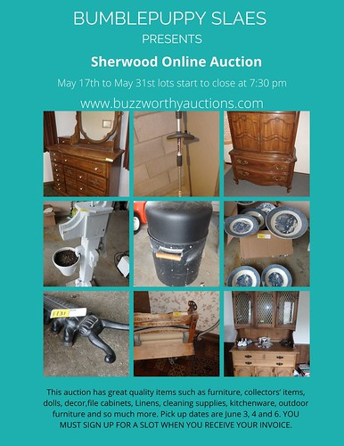 Sherwood Online Auction | by BumblePuppySales