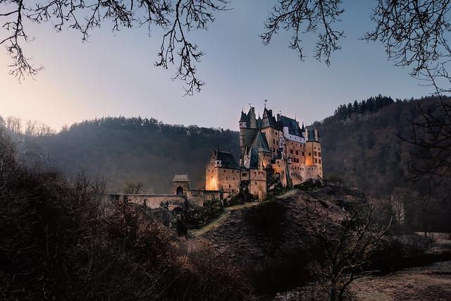 Sunrise at Eltz Castle, Germany