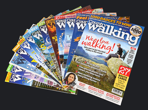 Country Walking Magazine Covers