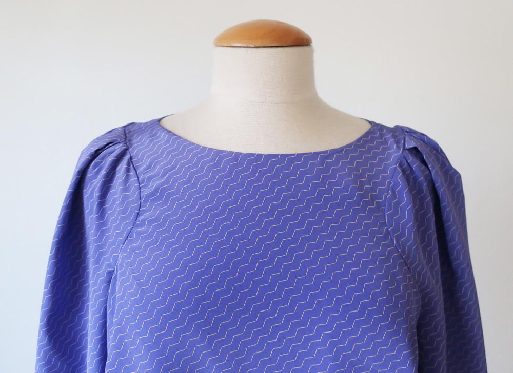 lavendar burda top front1