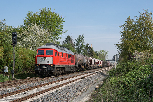 232 201 DB Cargo AG | Leipzig-Plagwitz | April 2020