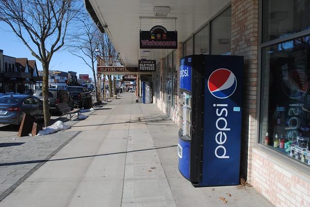 A Pepsi Machine in the Wisconsin Dells