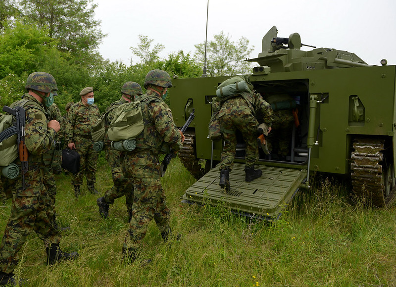 Serbian army to receive modernized BVP M-80A infantry fighting vehicle