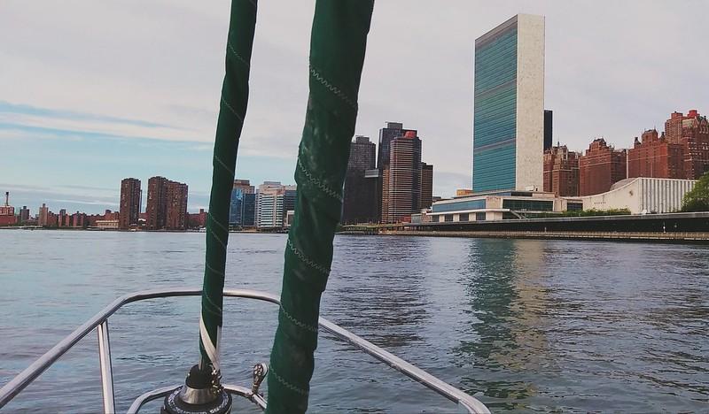 S/V S.N Cetacea at the U.N.