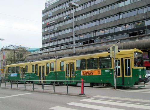 A Helsinki Tram