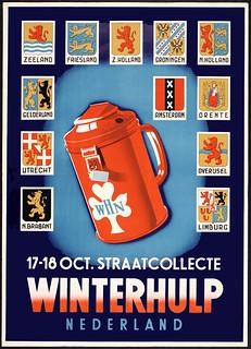 Winterhulp, Nederland, 1942.