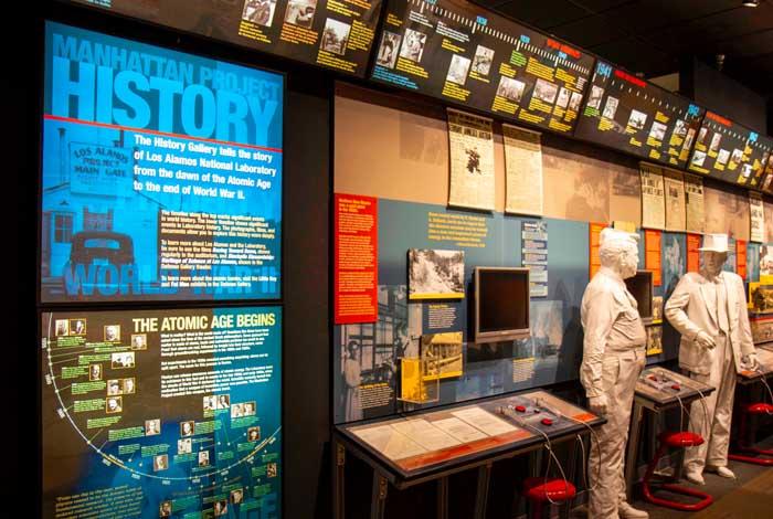 image inside of bradury science museum