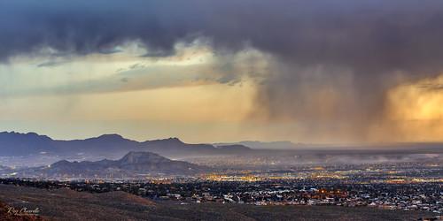 mountcristorey elpaso texas transmountainroad canon5dmarkiii canonef70200mmf28lisiiusm landscape sunset rain desert