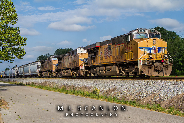 UP 5422 | GE AC45CCTE | NS Memphis District West End