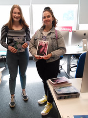 Blether and Freyja magazines, and their proud publishers, Alison and Louisend!