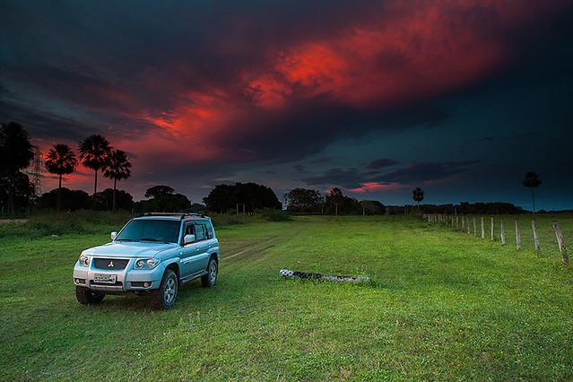 Estrada Parque - Pantanal da Nhecolândia.