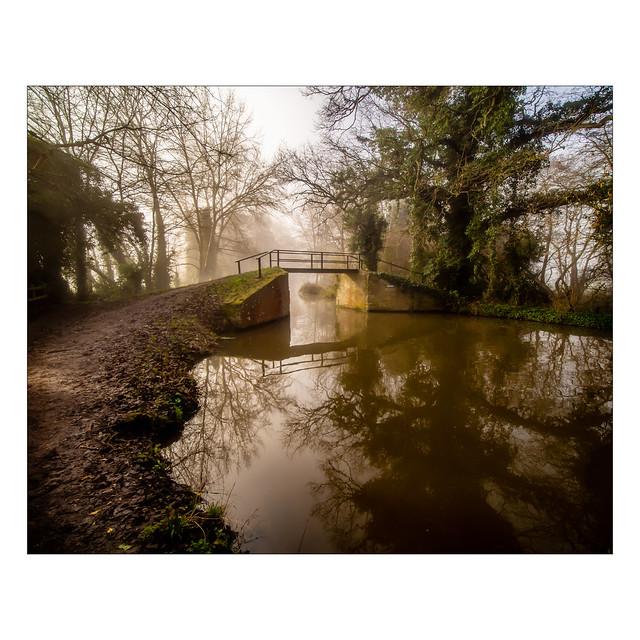 Morning mist over the bridge