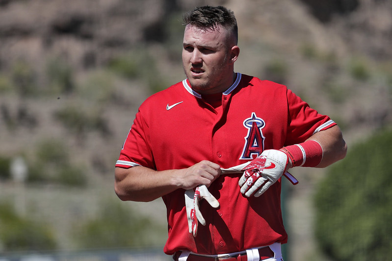 Mike Trout。(達志影像資料照)