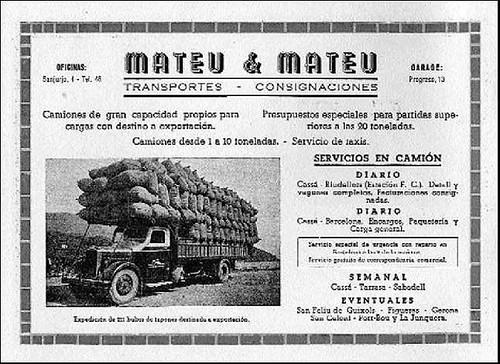 publicitat Transports Mateu i Mateu diari de Girona 2007-12-09