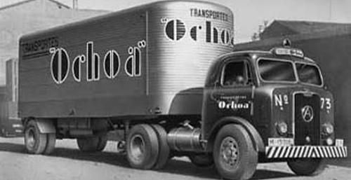 Camió Transports Ochoa