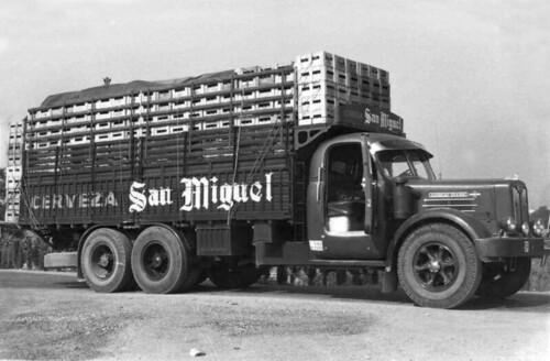 camió cervesa San Miguel