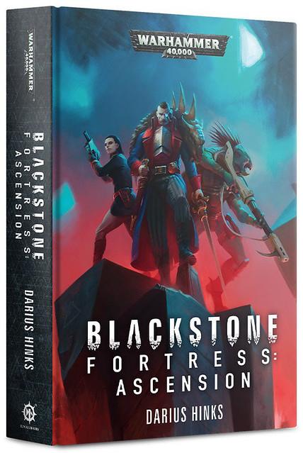 «ЧЁРНОКАМЕННАЯ КРЕПОСТЬ: ВОЗНЕСЕНИЕ», Дариуса Хинкса | Blackstone Fortress: Ascension by Darius Hinks