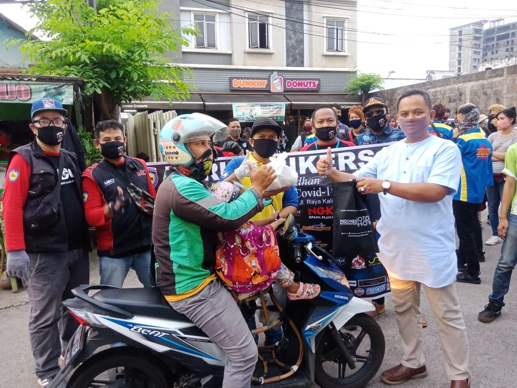 Forum Bikers Berbagi Ramadhan Peduli Pandemi Covid-19 IMI DKI