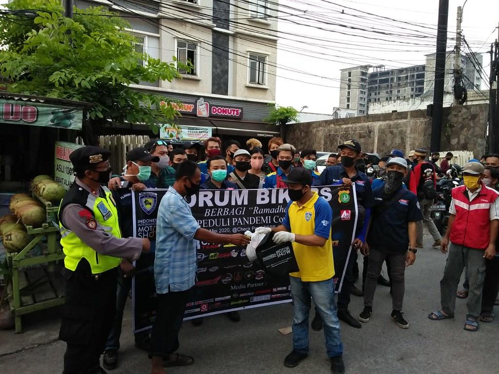 Forum Bikers Berbagi Ramadhan Peduli Pandemi Covid-19 4