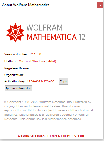 Wolfram Mathematica 12.1 x86 x64 full license