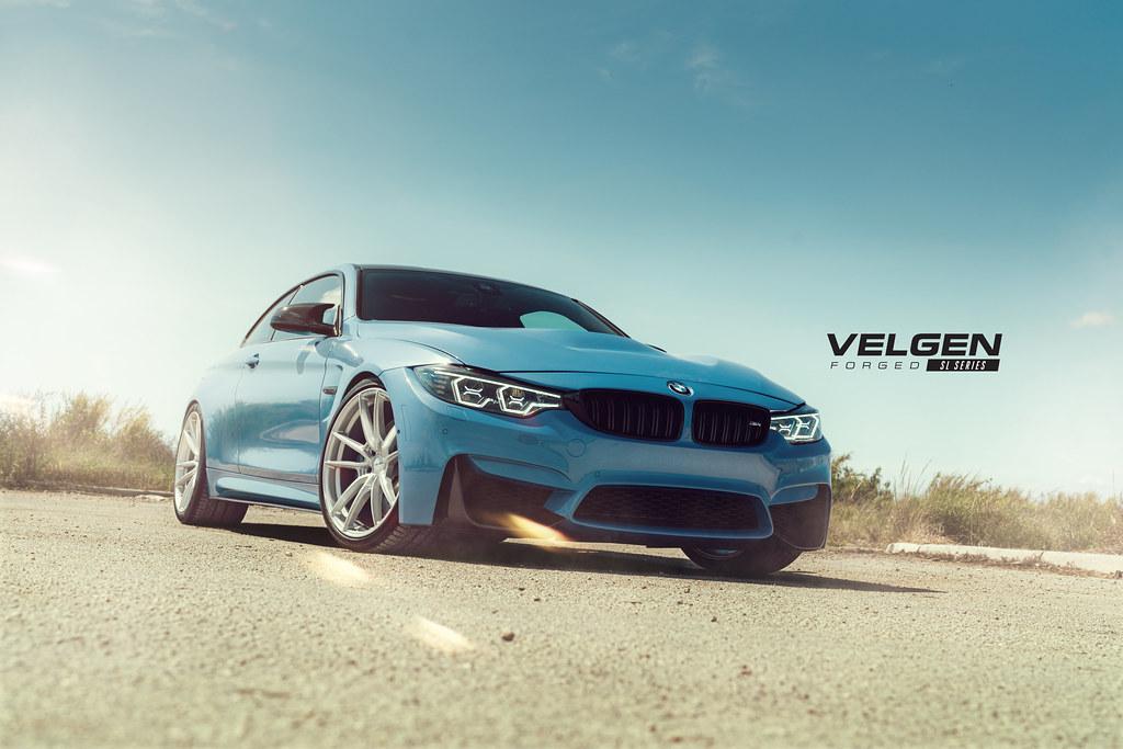 BMW M4 VELGEN VF5 20X9.5 & 20X11 GLOSS SILVER