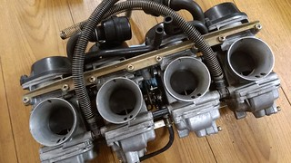 GSX-R1100W carb.