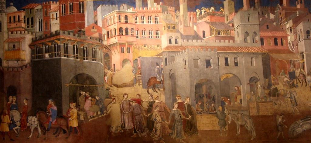 Buen Gobierno - Palacio Ducal de Siena