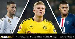 Trio Baru Real Madrid Impian Zidane Dari Mbappe Hingga Erling Haaland