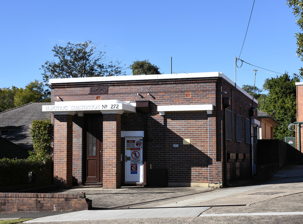 Electricity Substation No 272, Turramurra, Sydney, NSW.