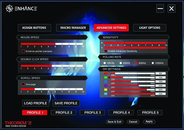 ENHANCE Theorem 2 Mouse Software Walkthrough21
