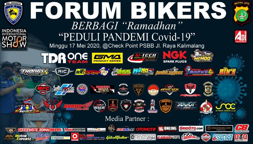 Forum Bikers Berbagi Ramadhan Peduli Pandemi Covid-19