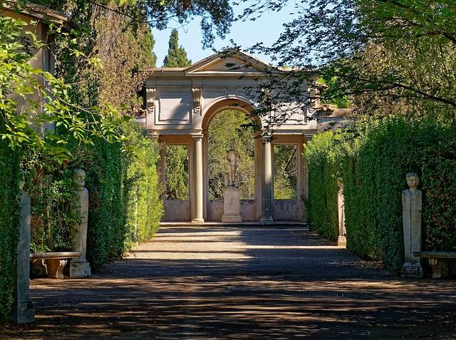 Rome / Medici Villa / Ariane Pavilion or Cleopatra Loggia