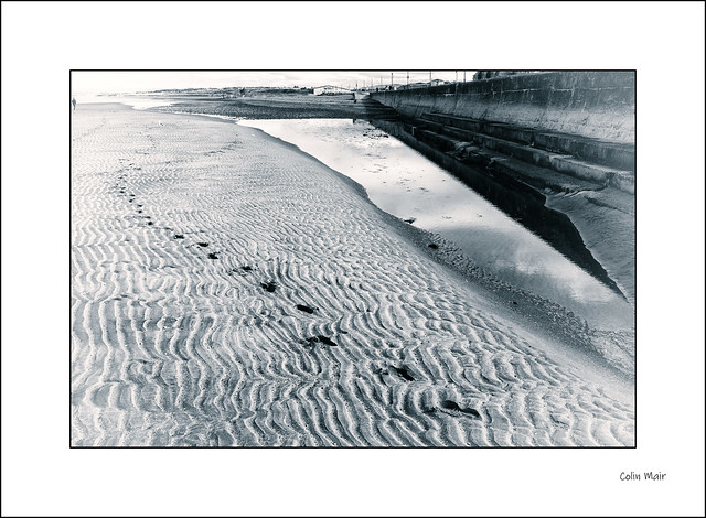 Footprints in the sand - 2020-05-14th