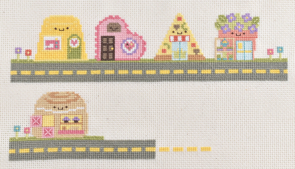 Kawaii Crossing Bakery Cross Stitch