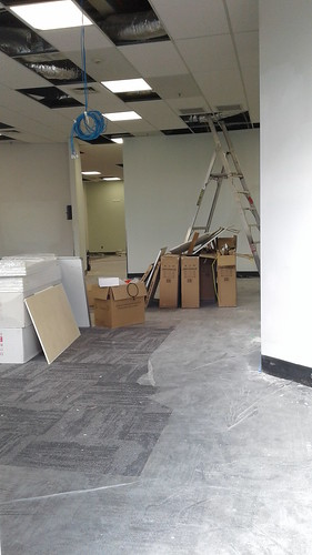 Shirley Library refurbishment underway | by Christchurch City Libraries