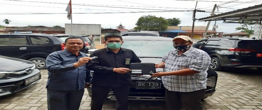 Serah Terima Pinjam Pakai Mobil Dinas Pengadilan Agama Sei Rampah | (29/5)
