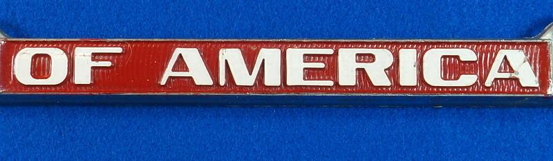 RD29938 Oldsmobile Club of America Vintage Metal License Plate Frame Tag Holder Olds DSC04737