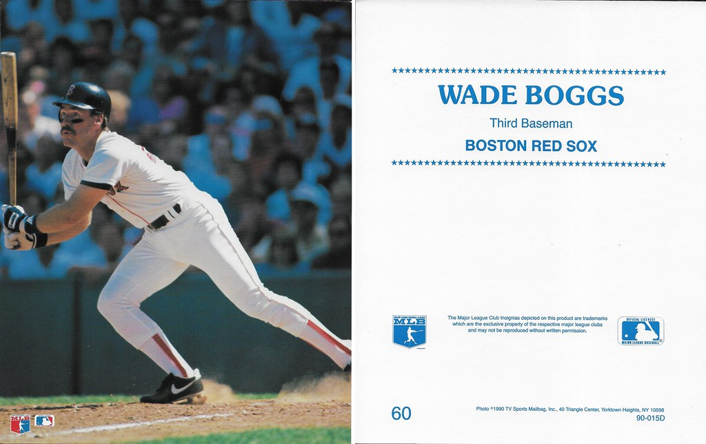 1990 TV Sports Mailbag - Boggs, Wade 60