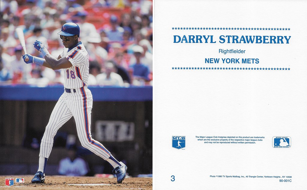 1990 TV Sports Mailbag - Strawberry, Darryl 003